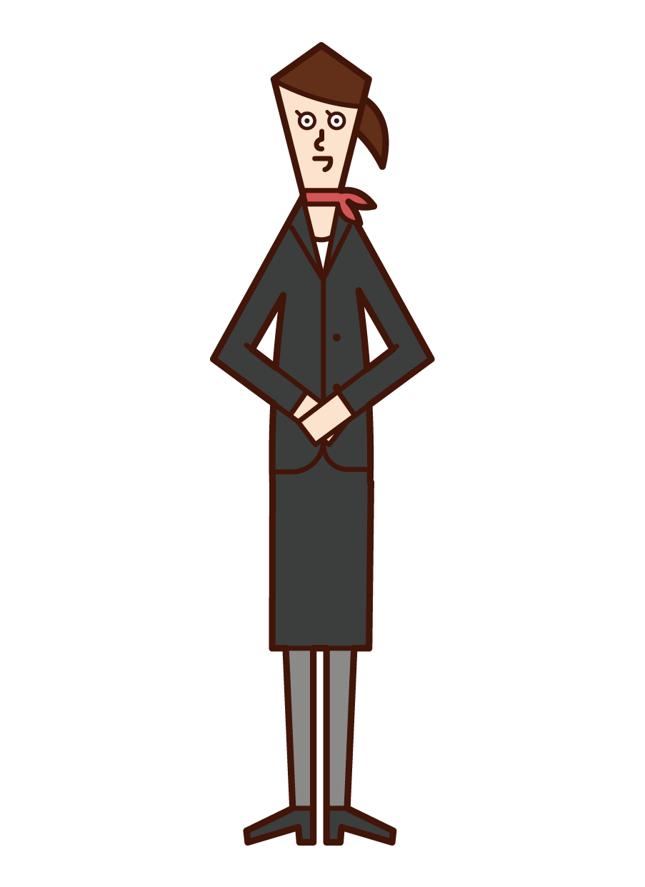 Illustration of Concierge (Women)