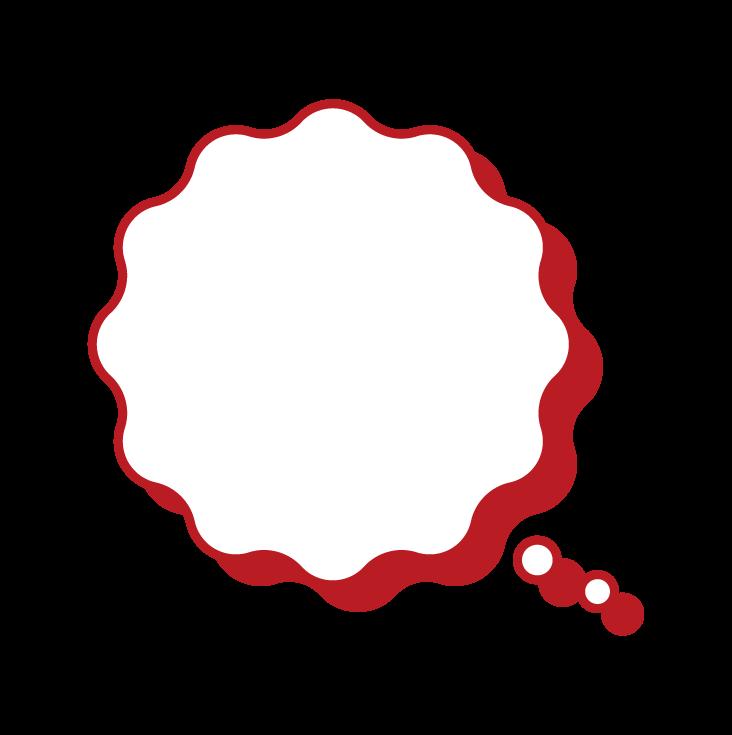 波浪形氣球的插圖