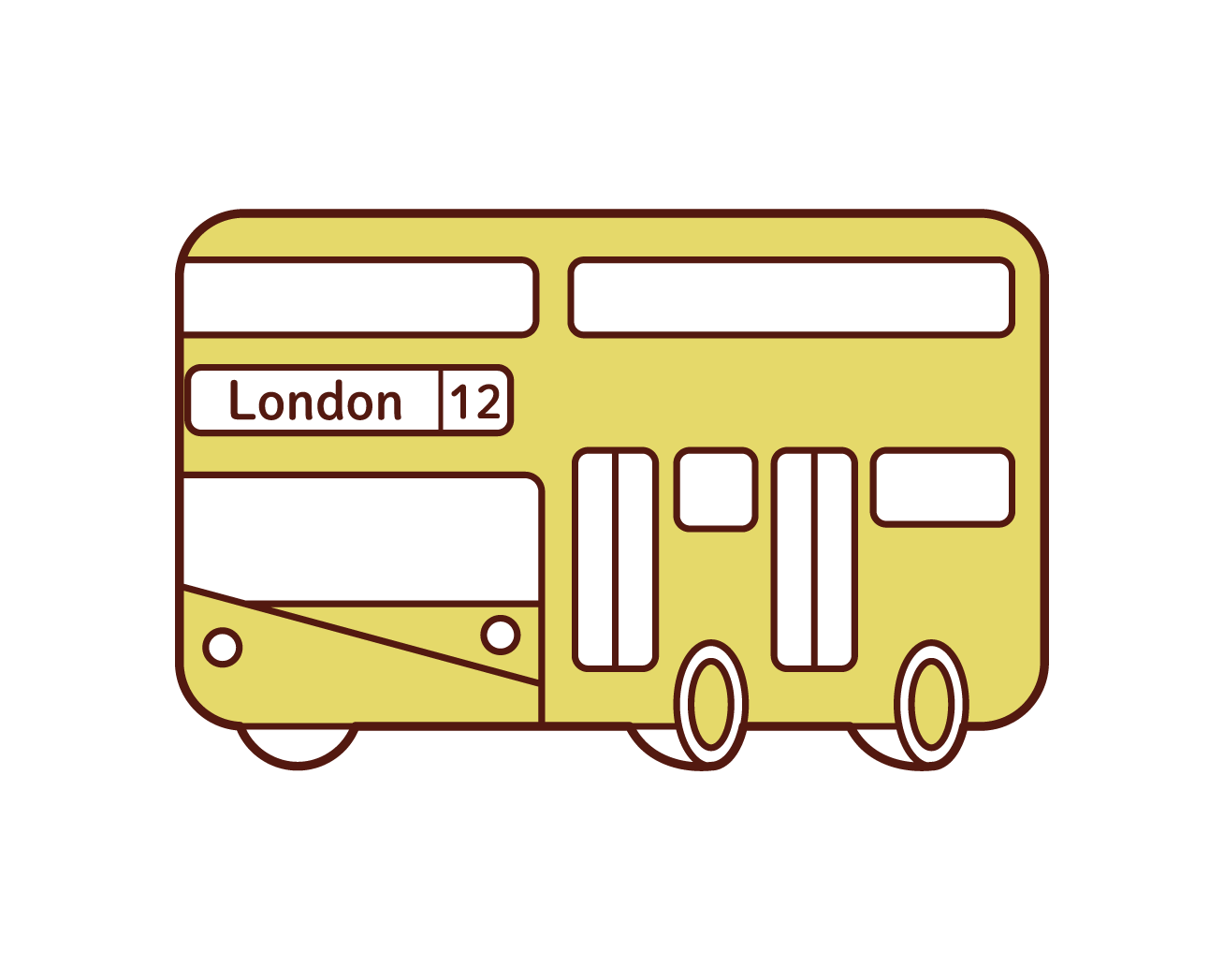 倫敦巴士插圖