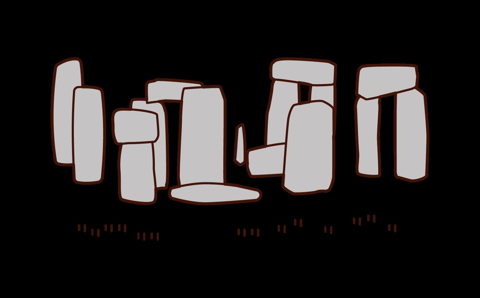 巨石陣插圖