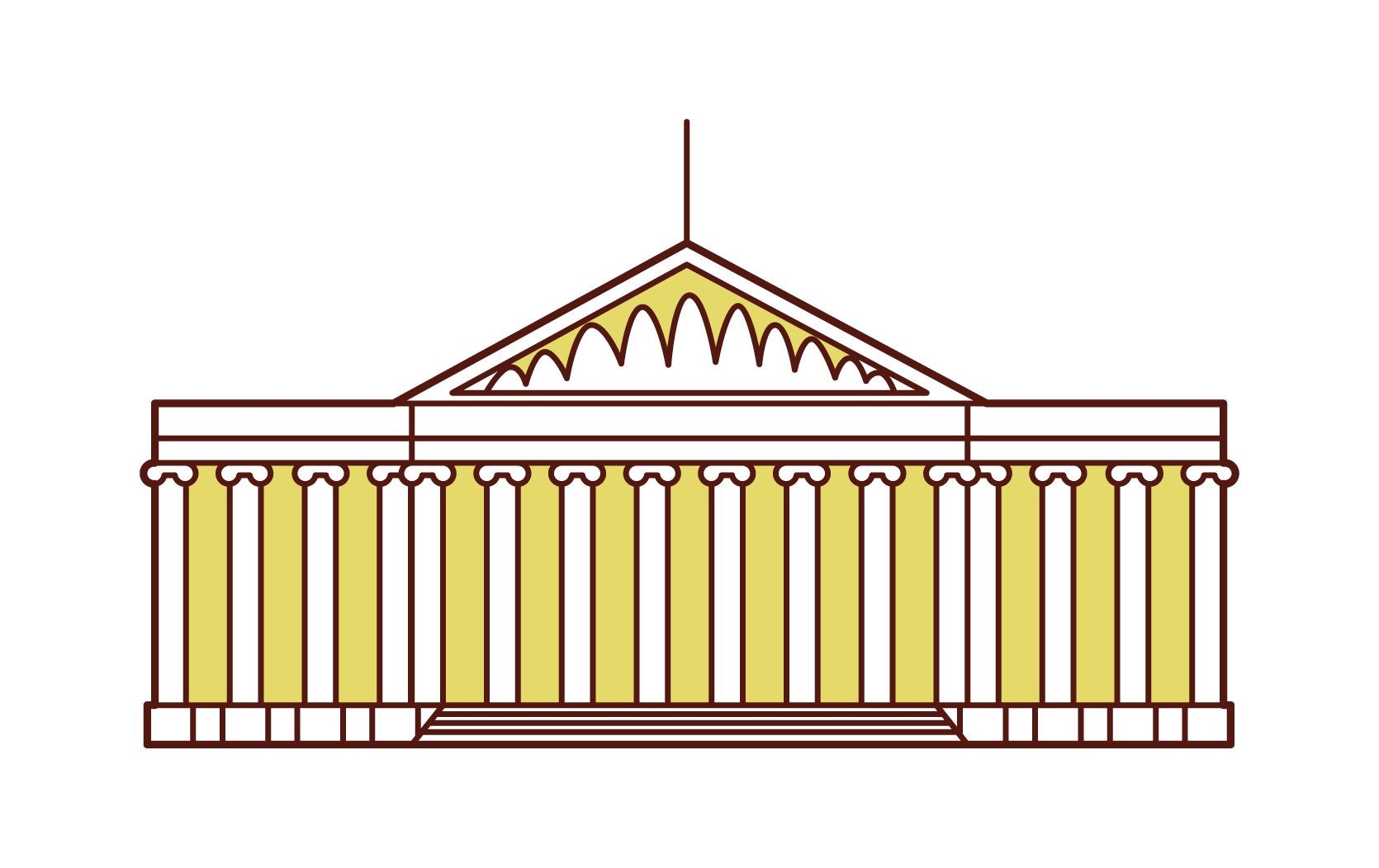 삽화 의 대영 박물관