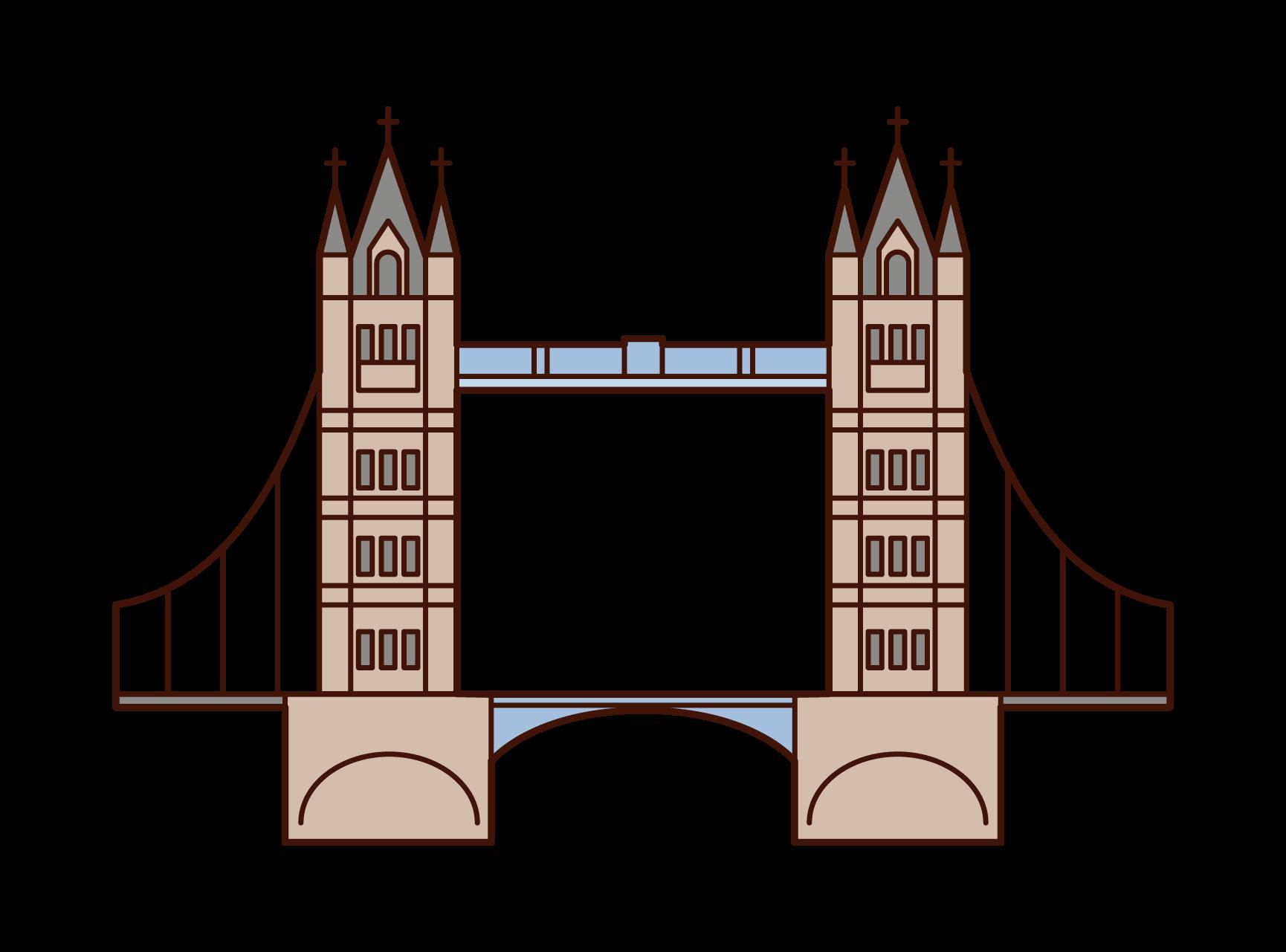 Illustration of Tower Bridge