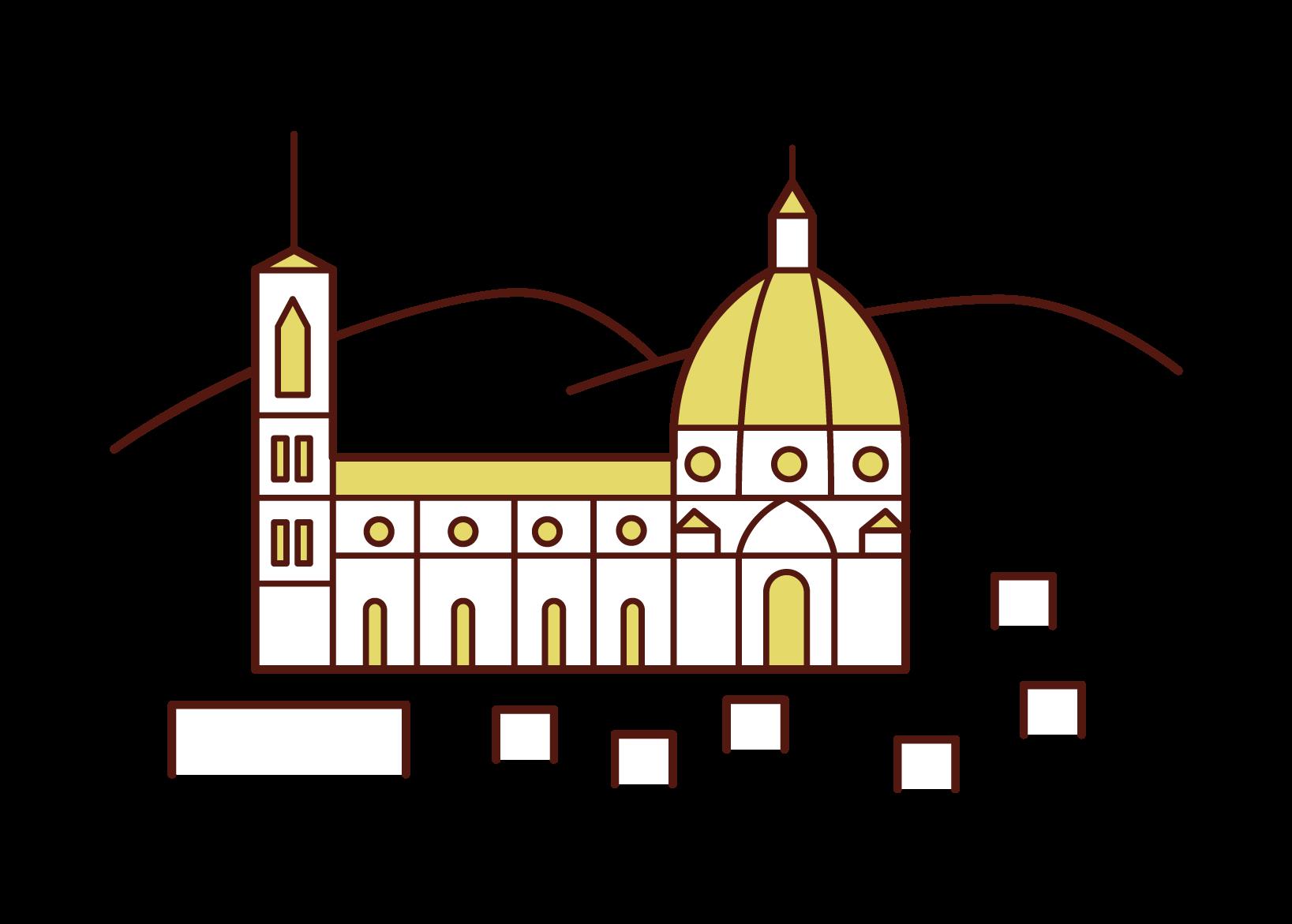 피렌체의 삽화