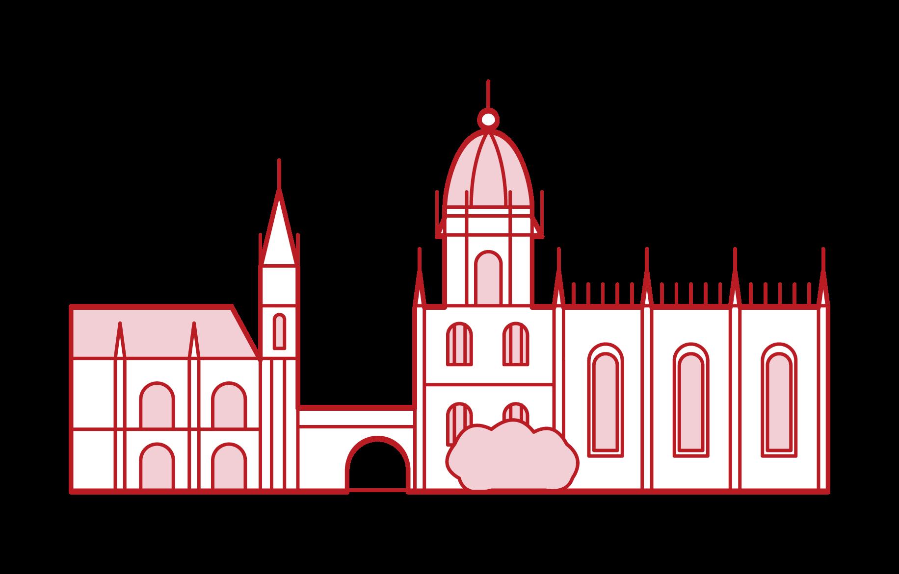 예: 게로니모스 수도원
