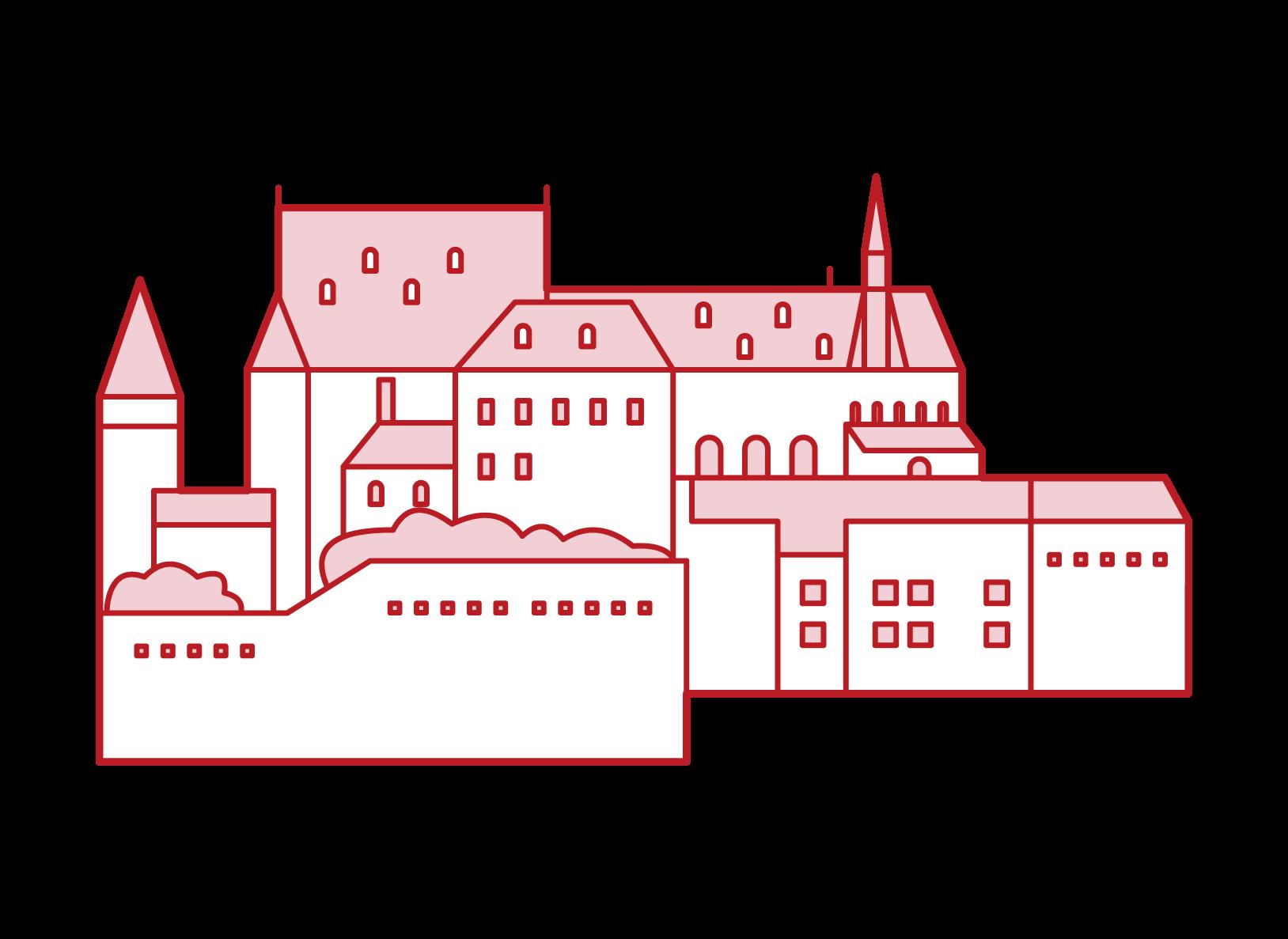 維安登城堡插圖