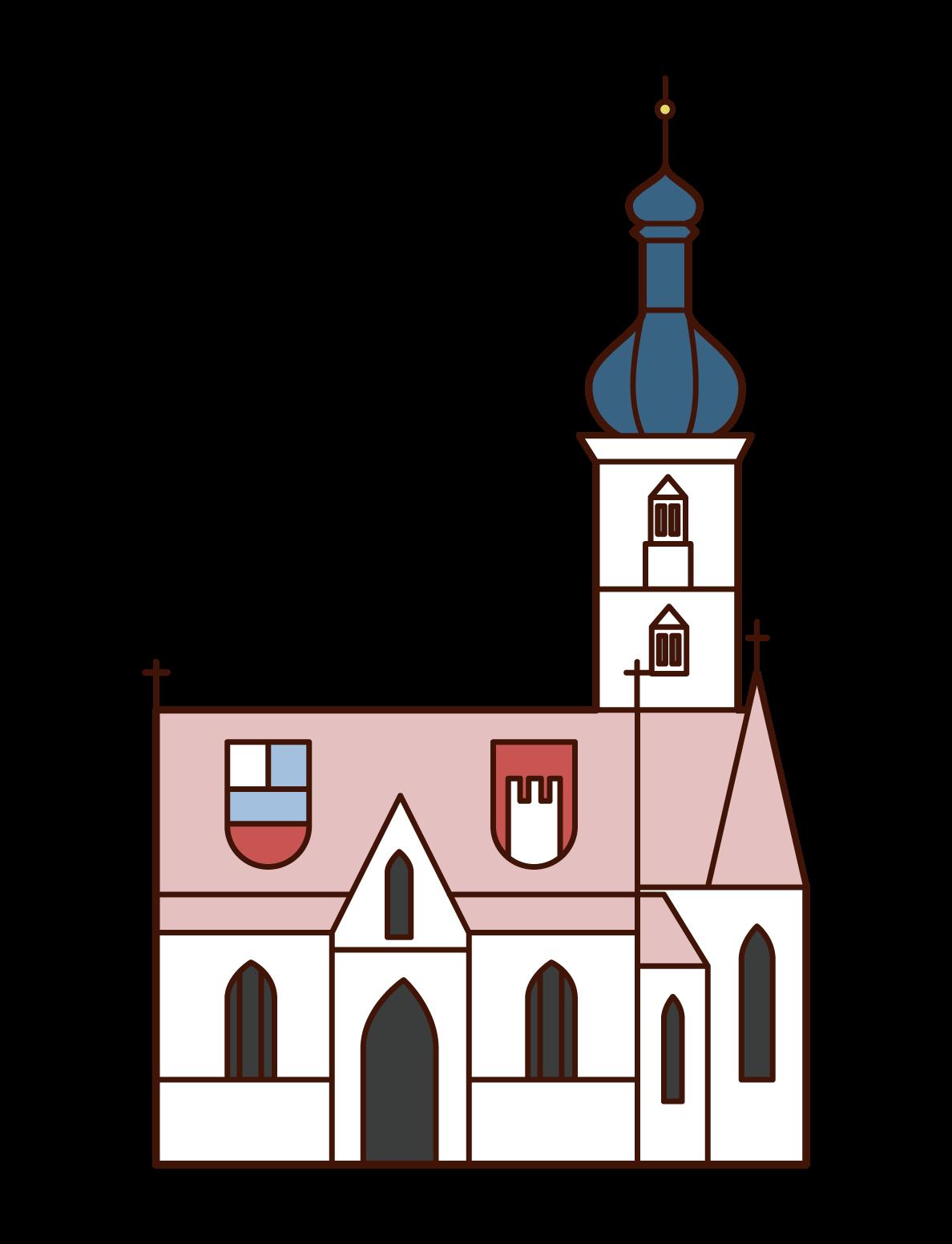 聖マルコ協会のイラスト