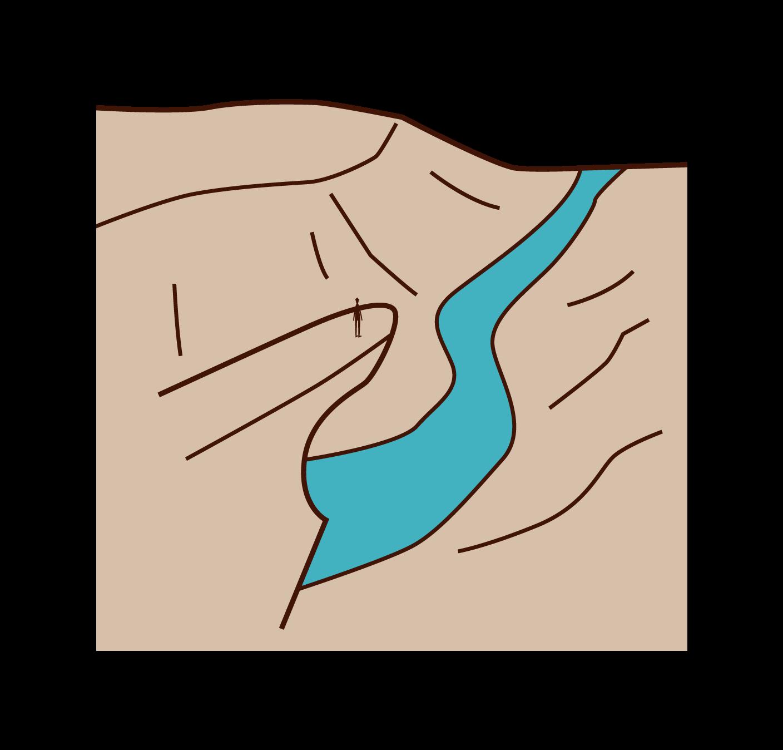 トロルの舌のイラスト