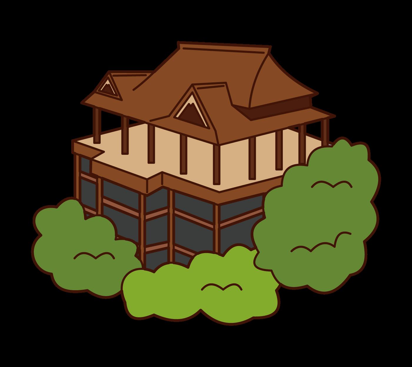 清水寺插圖