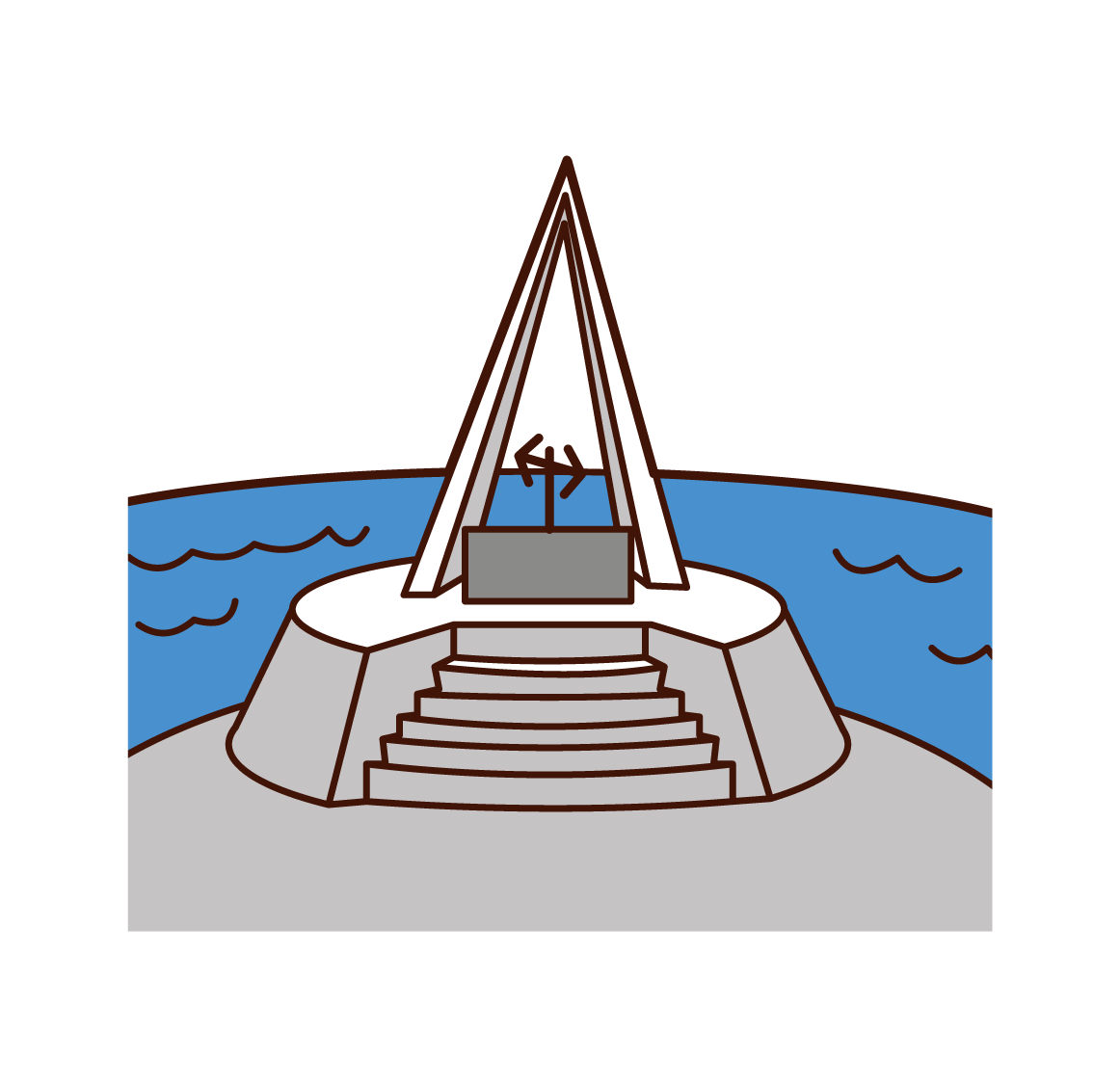 Illustration of Cape Soya