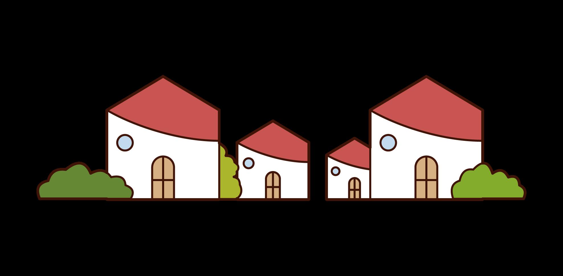 Illustration of KuKuKeKe House