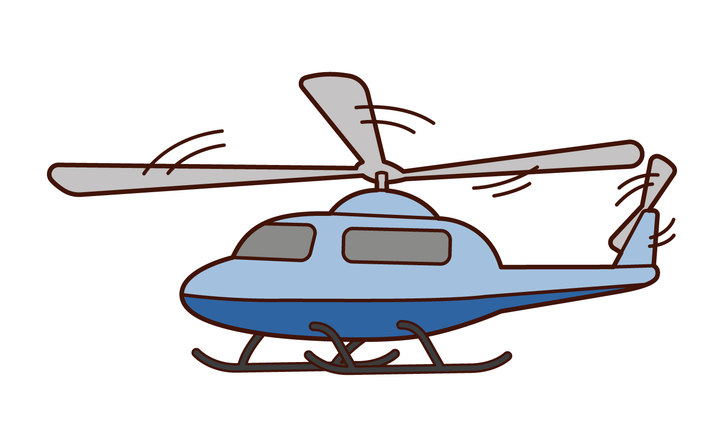 Helicopter Illustrations