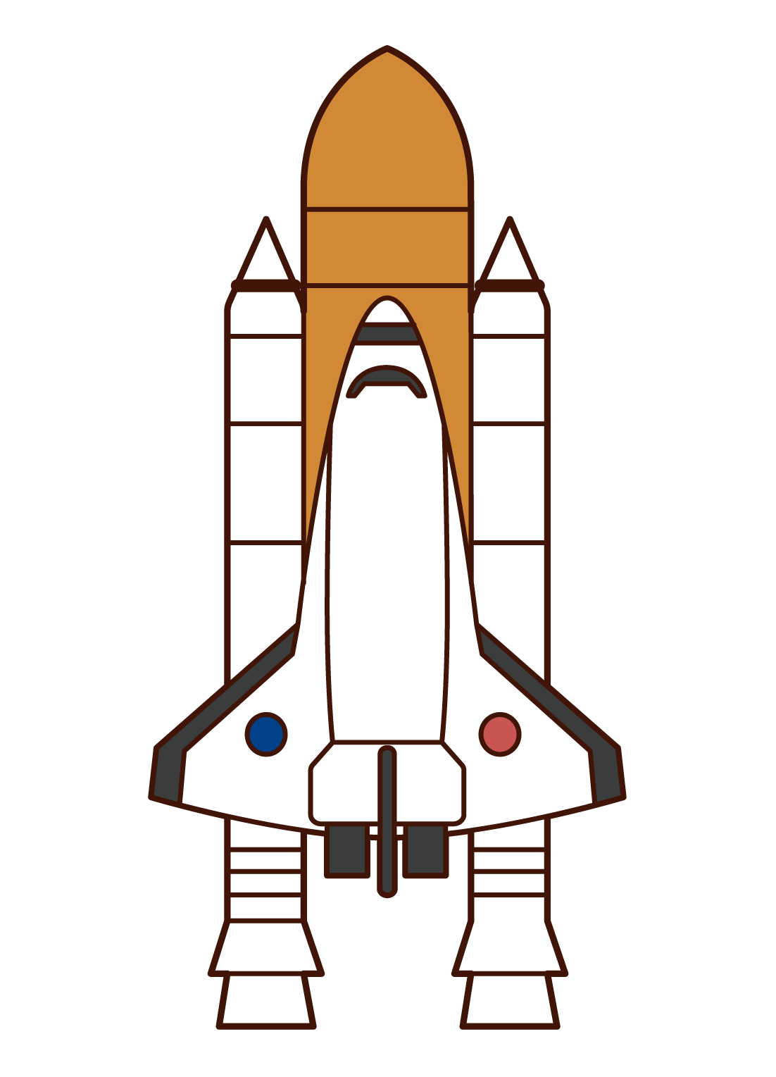 Illustration of the Space Shuttle