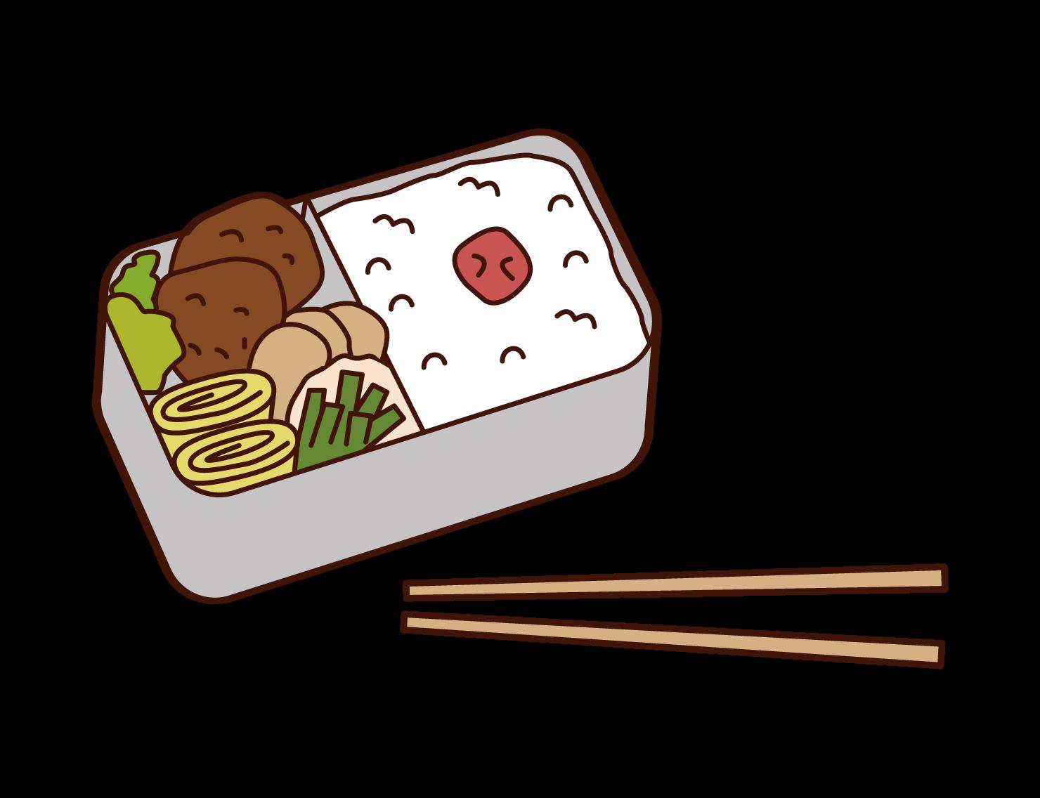 도시락 손그림 그리기 [요리 캐릭터 디자인] : 네이버 포스트