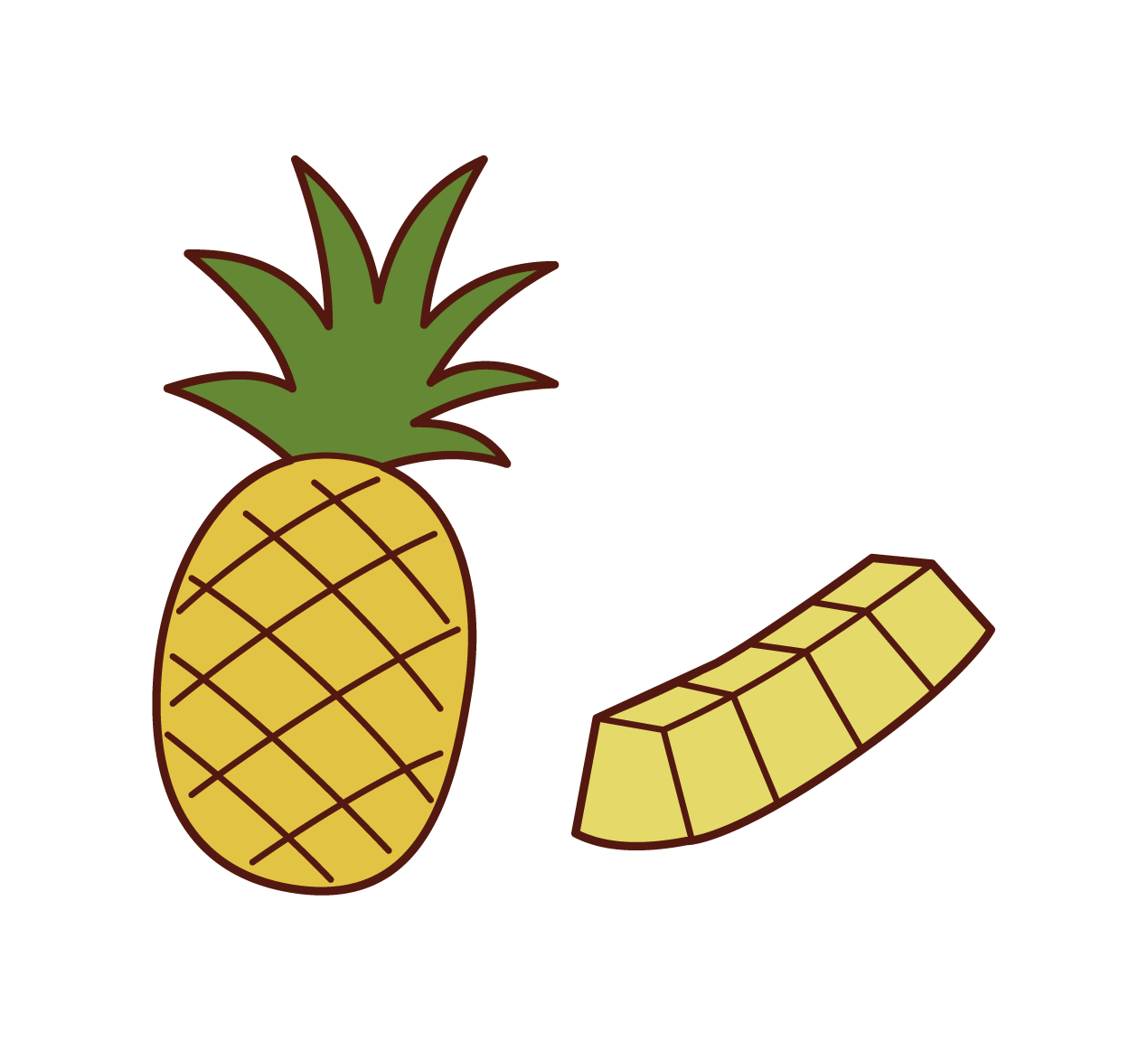 Pineapple Illustrations
