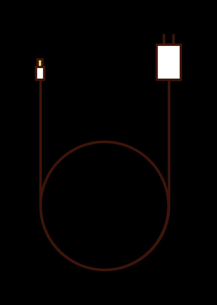 充電電纜插圖