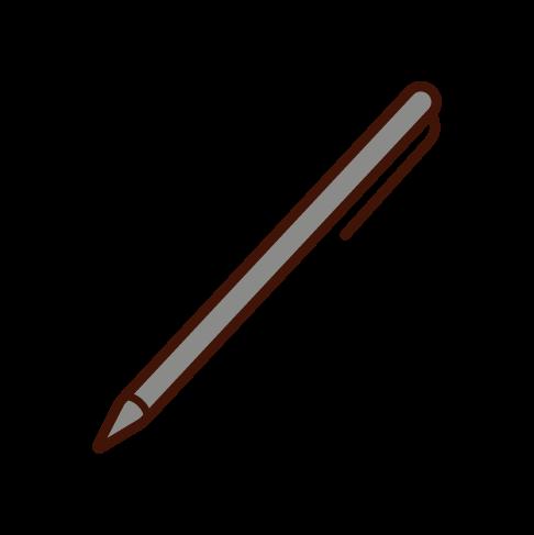 ペンのイラスト