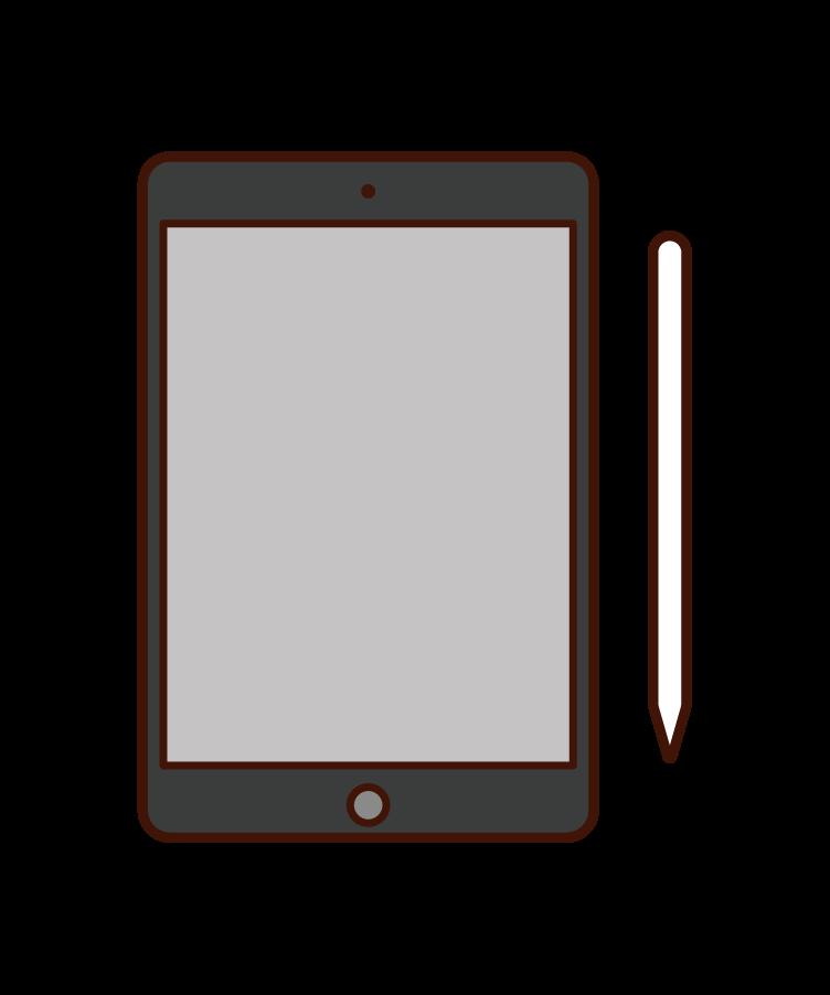 Tablet Illustrations