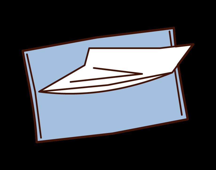 Pocket Tissue Illustrations