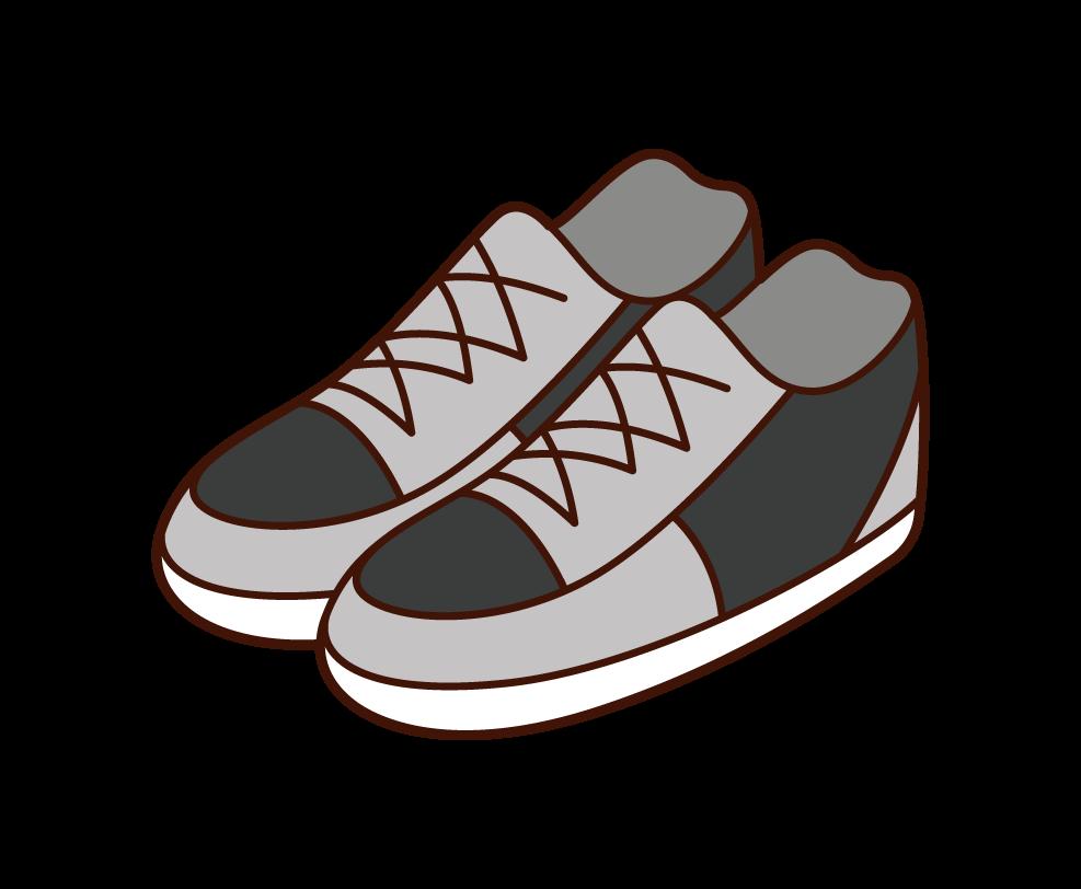 靴・スニーカーのイラスト