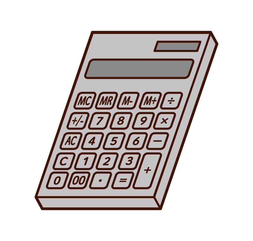 Calculator Illustrations