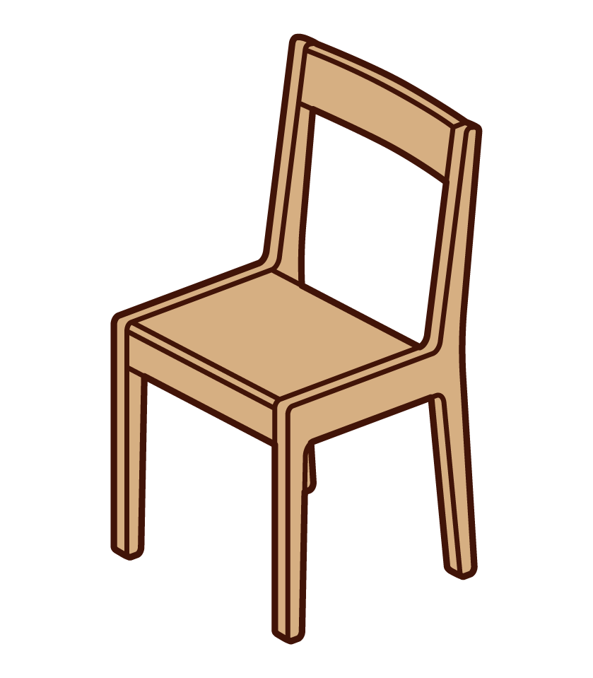 Wooden Chair Illustrations