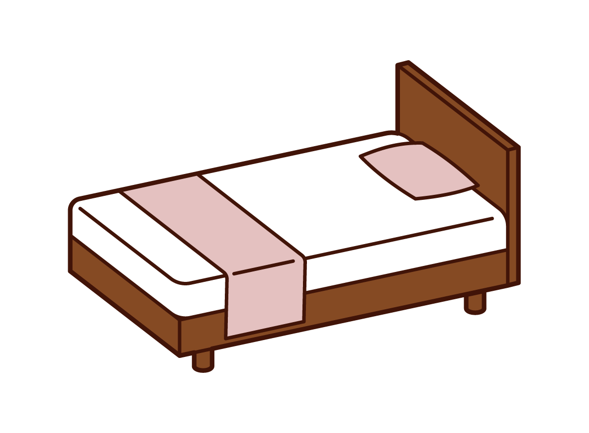 Wooden Bed Illustrations