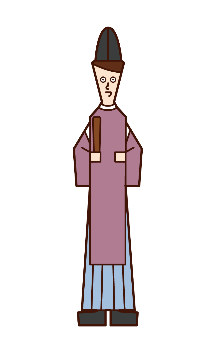 Illustration of priests and priests (man)