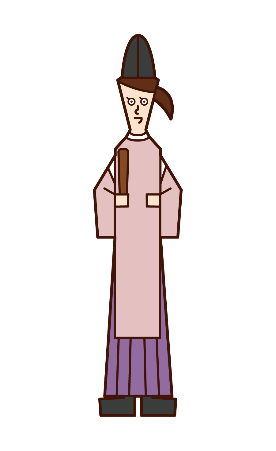 Illustration of priests and priests (women)