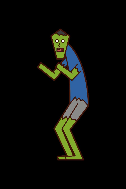 Zombie (Halloween) Illustration