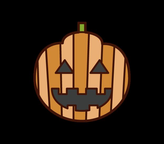 Jack-O-Lantern (Halloween) Illustration