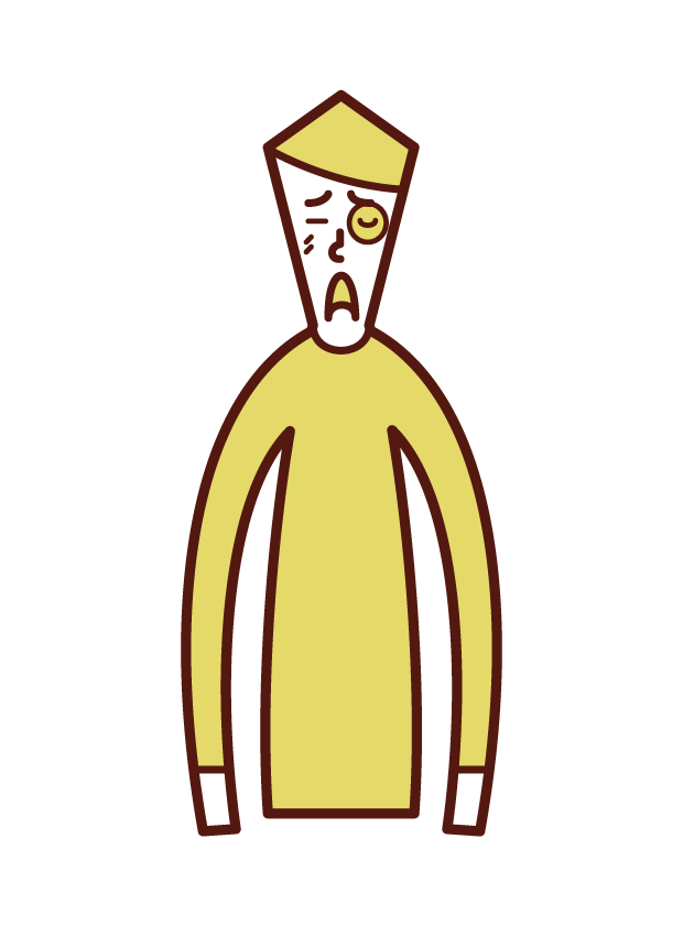 Illustration of a man's face