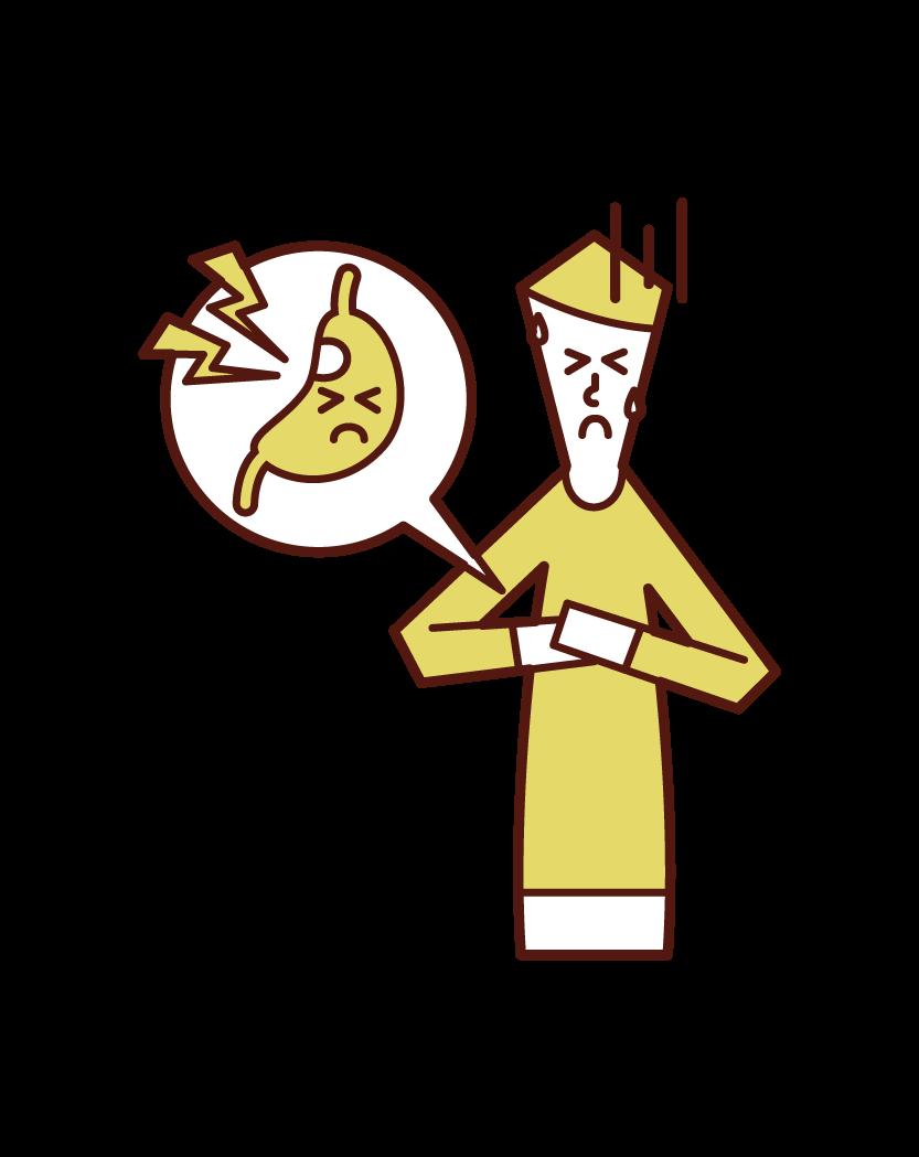 위 궤양 (남성)