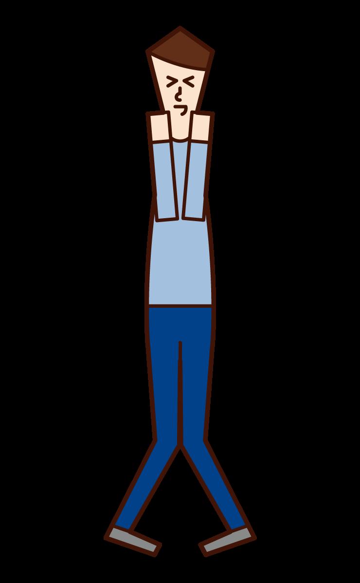 Happy Person (man) Illustration
