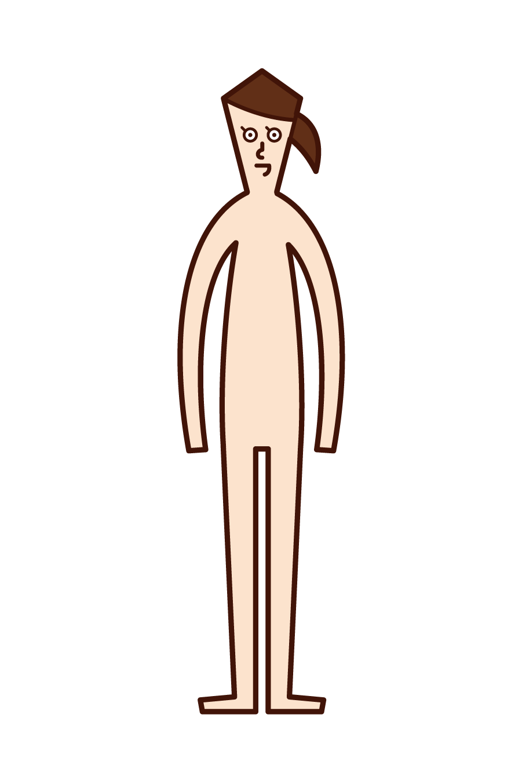 인체 (여성) 그림