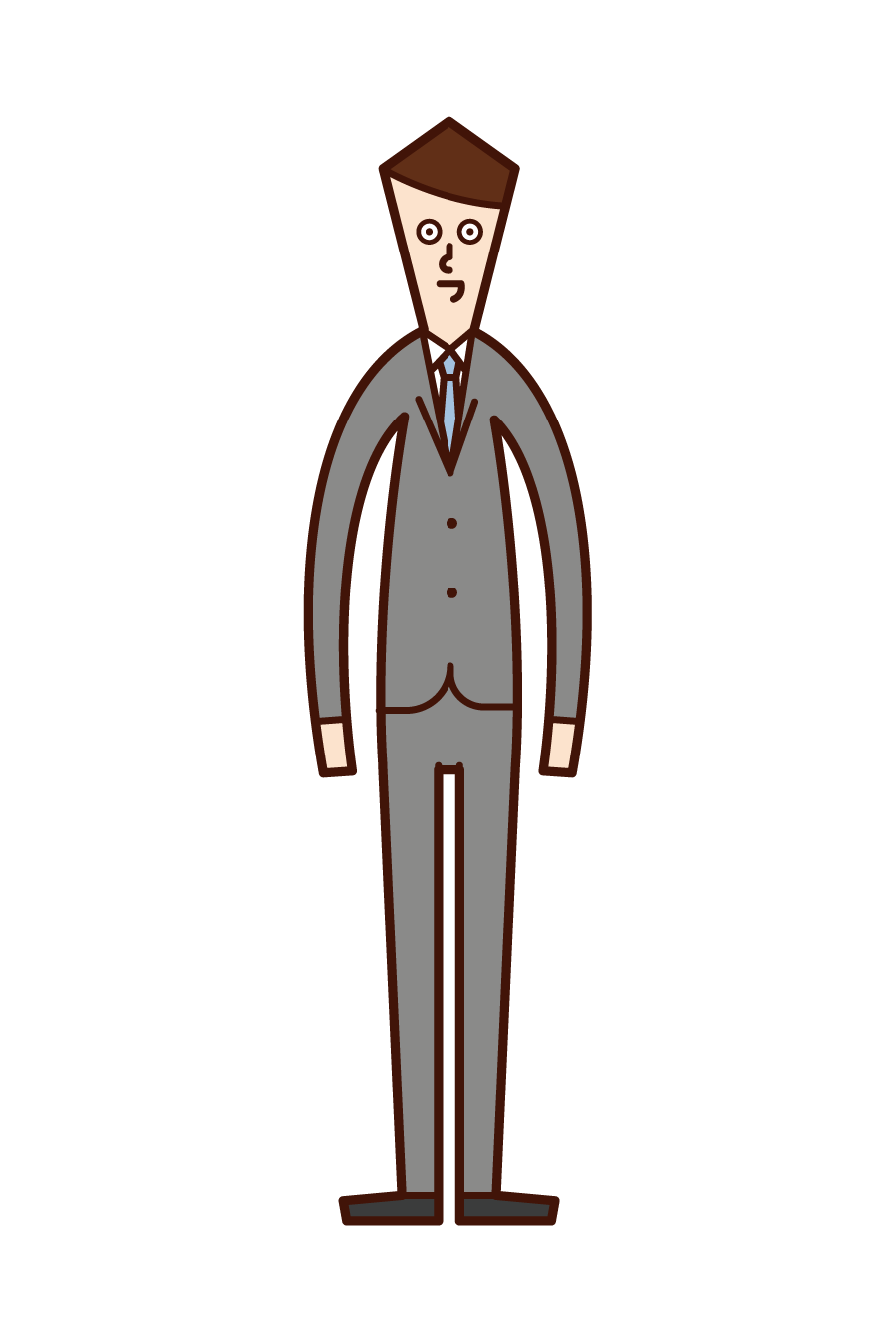 Illustration of a man in a suit