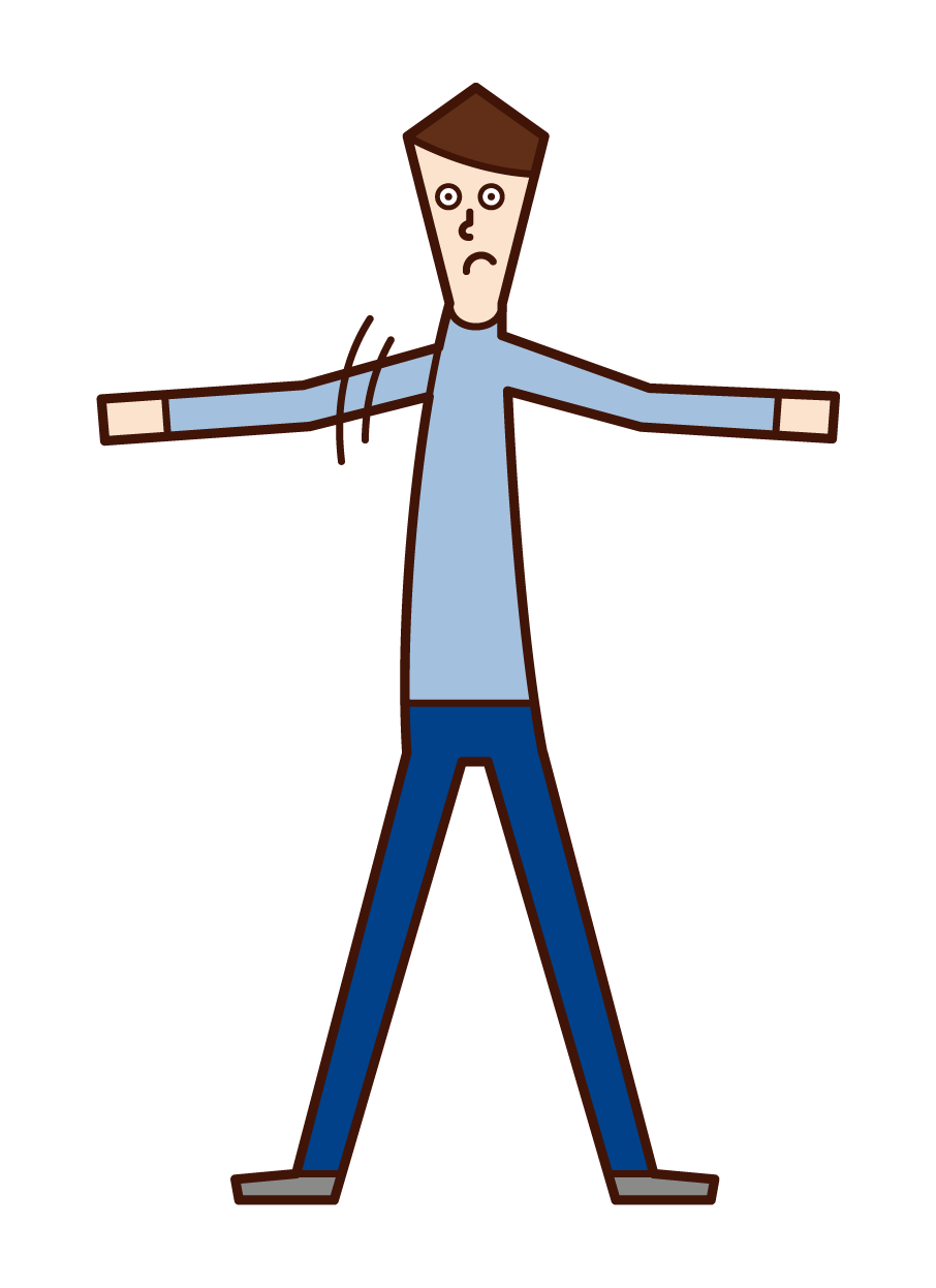 Illustration of a man
