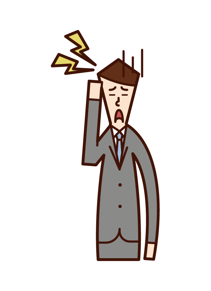 고관절 질환 (남성) 그림