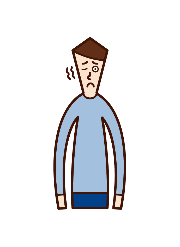 밀 과립종 (남성) 그림