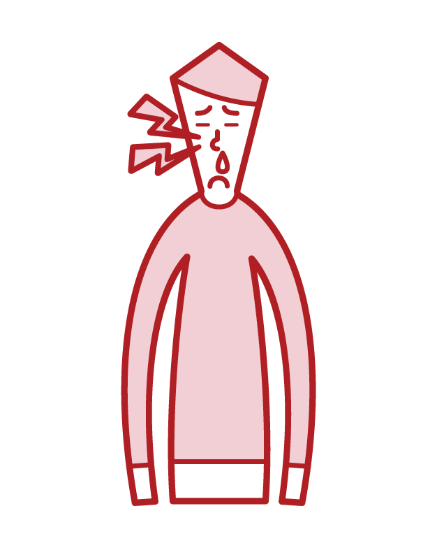 만성 부비동염과 농양 (남성)의 그림