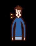 감기 (소년)의 의 그림