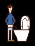 Illustration of a child (boy)