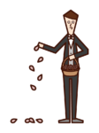 Illustration of Flower Boy (Male)