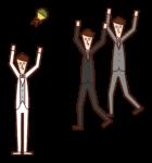 做花椰菜的人(男孩)的插圖