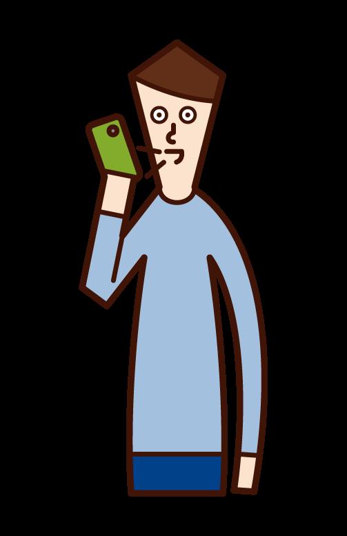 智慧手機語音辨識(男性)插圖