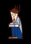 비관적이고 우울한 사람들 (남성)의 그림