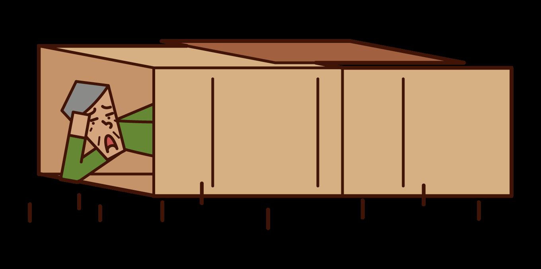 無家可歸者插圖
