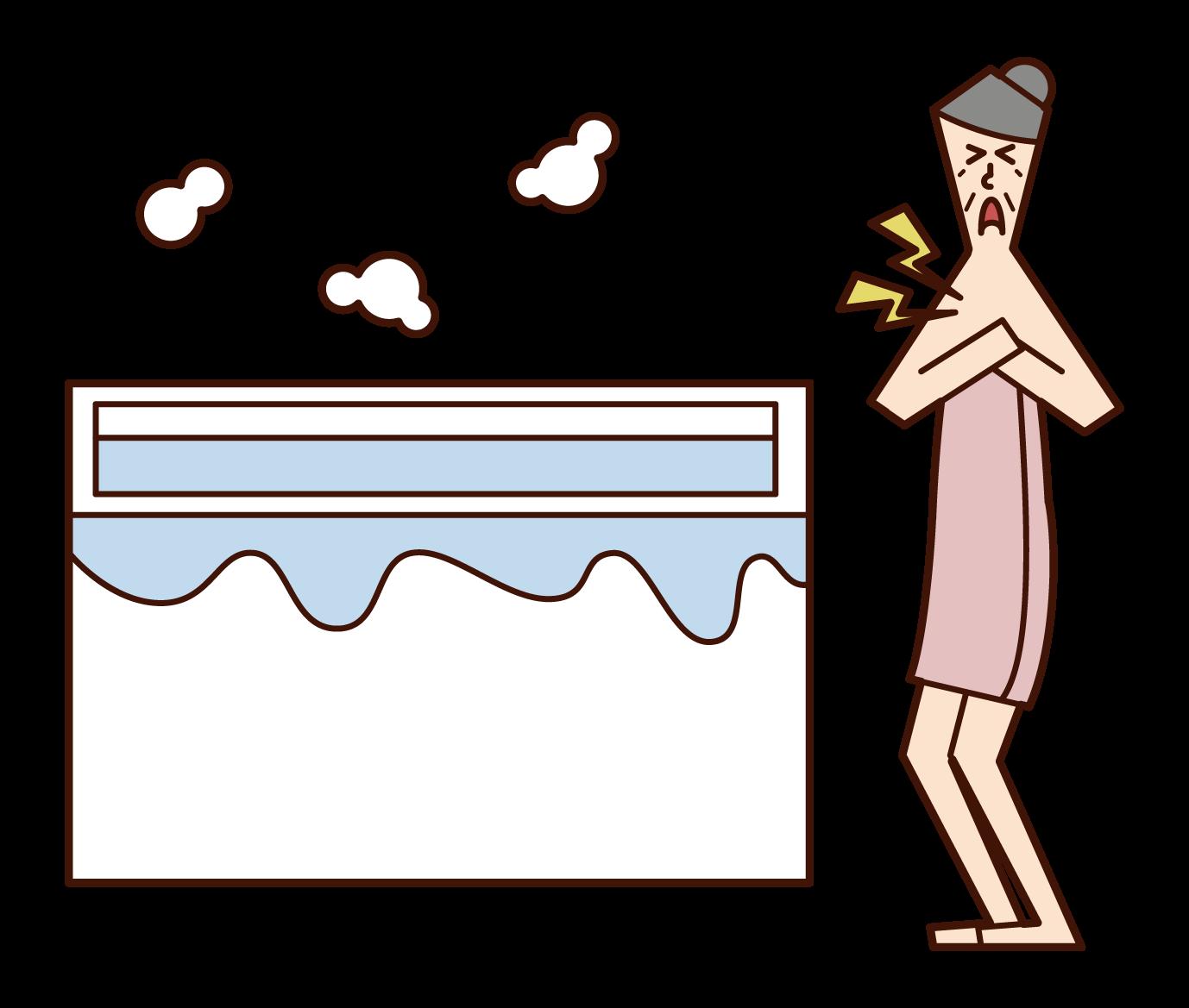 熱衝擊浴場事故(祖母)插圖