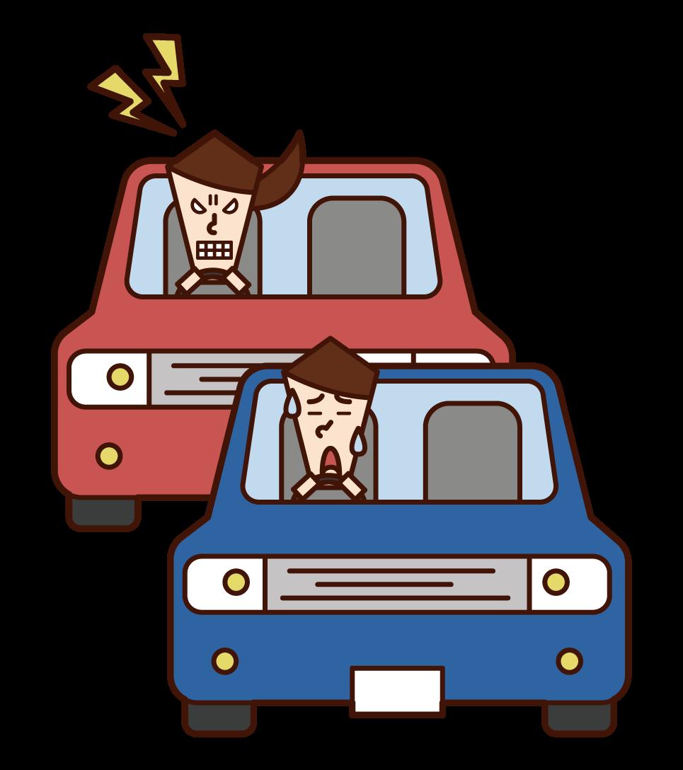 운전 선동자 (여성)의 그림