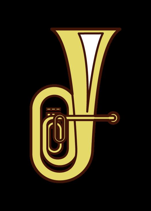 Tuba Illustration