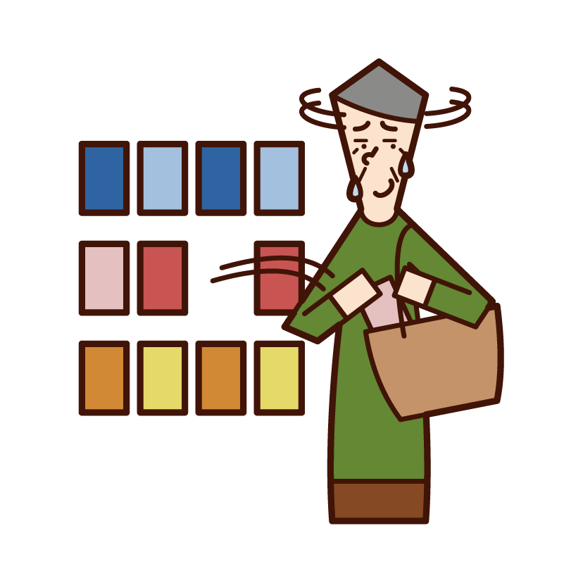 Illustration of a man who is a man who pulls a man